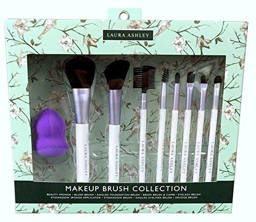 Laura Ashley - Laura Ashley Makeup Brush Collection Set Nine pieces