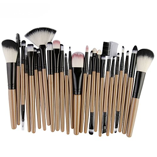 FORUU - FORUU Make up Brushes, 2019 Valentine's Day Surprise Best Gift For Girlfriend Lover Wife Party Under 5 Free delivery 25pcs Cosmetic Makeup Brush Blusher Eye Shadow Brushes Set Kit