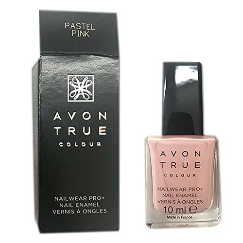 Avon True Color Pro+ Nail Enamel, Color Pastel Pink
