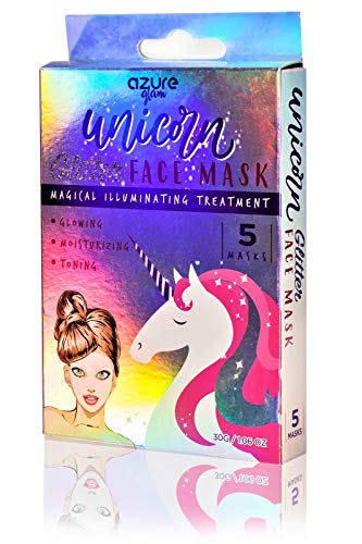 Azure Cosmetics - Unicorn Illuminating Holographic Glitter Face Mask