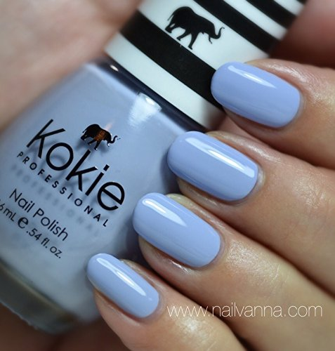 Kokie - Kokie Professional Nail Polish in Heavenly Light Lilac