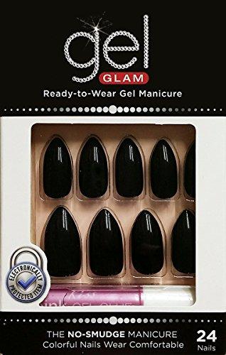 Kiss - Gold Finger Gel Glam 24 Nails