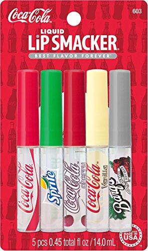 Lip Smacker - Lip Smacker Coca-Cola Liquid Lip Gloss Party Pack, 5 Count
