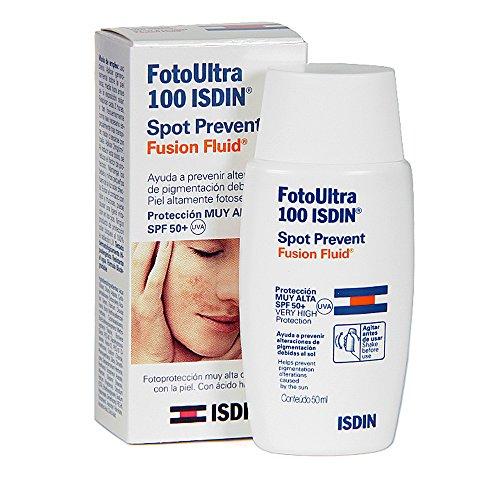 Sunscreen - Foto Ultra Isdin Fusion Fluid 100 Spot Prevent
