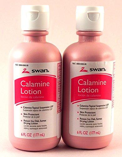 Swan - Swan Calamine Lotion - (2) 6 Oz. Bottles