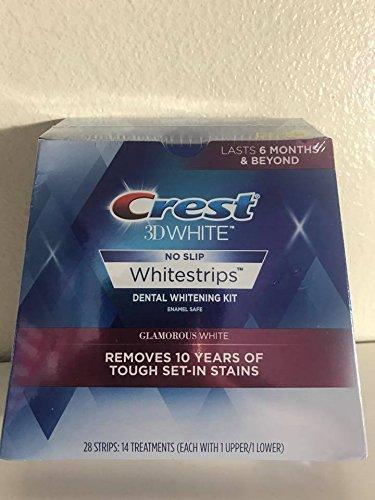 null - Crest 3D Whitestrips Glamorous White 28 Strips - 14 Treatments
