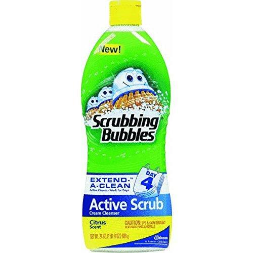 Scrubbing Bubbles - Scrubbing Bubbles Scrubbing Bubbles Active Scrub, Citrus, 24 Fluid Ounce