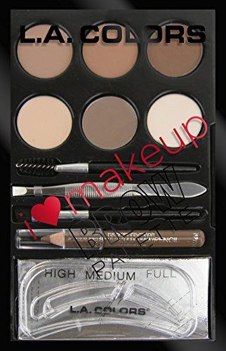 L.A. Colors - I Heart Makeup Brow Palette