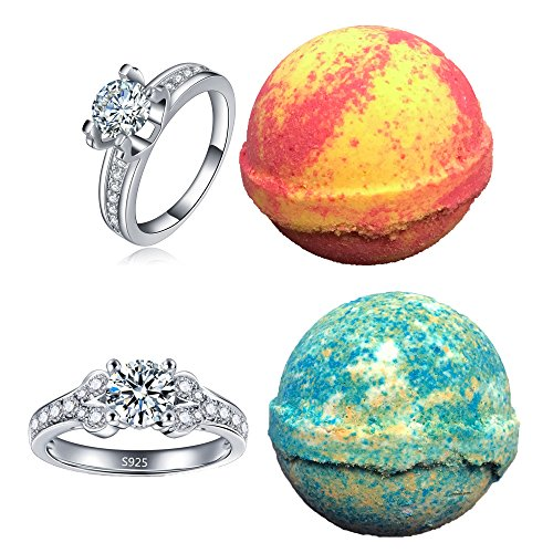 Amor Bath Bombs - Amor Bath Bombs, 2 Ring, Large, 5 oz.
