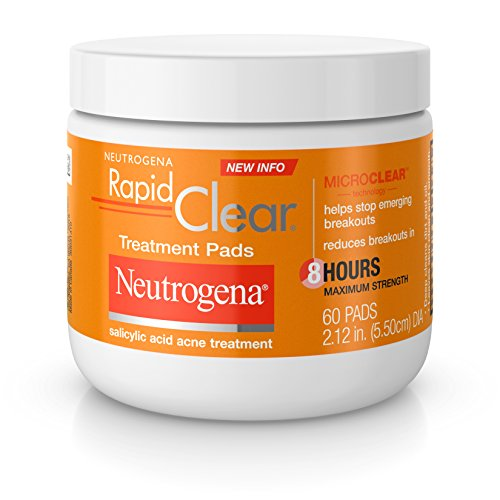 Neutrogena - Rapid Clear Maximum Strength Treatment Pads