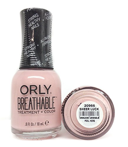 Orly - Orly Breathable Nail Color, Sheer Luck, 0.6 Fluid Ounce
