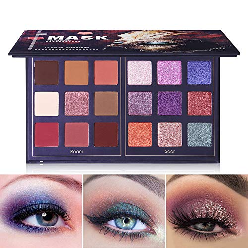 UCANBE - Pro 18 Colors Fashion Eyeshadow Palette, Roam and Soar