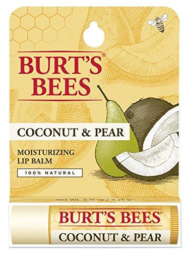Burt's Bees - Moisturizing Lip Balm, Coconut & Pear