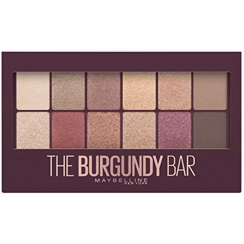 Maybelline - Eyeshadow Palette Makeup, The Burgundy Bar