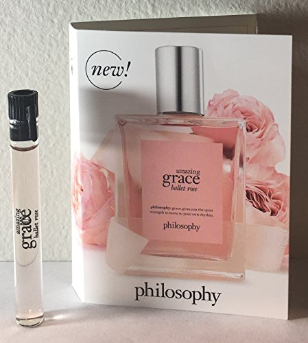null - Philosophy Amazing Grace Ballet Rose EDT Sample Vial - 1.5 ml