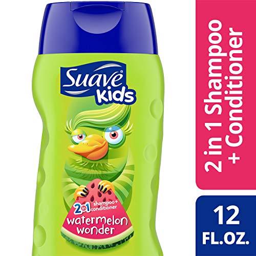 Suave - Suave Kids 2 in 1 Shampoo and Conditioner, Wild Watermelon 12 oz