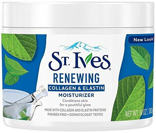 St. Ives St. Ives Renewing Collagen & Elastin Moisturizer, 10 oz (Pack of 5)