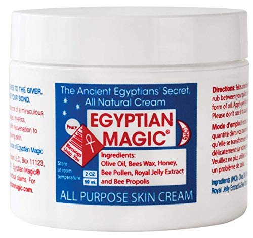 Egyptian Magic - Egyptian Magic All Purpose Skin Cream | Skin, Hair, Hand/Foot, Eye Cream | 100% Natural Ingredients | 2 Ounce