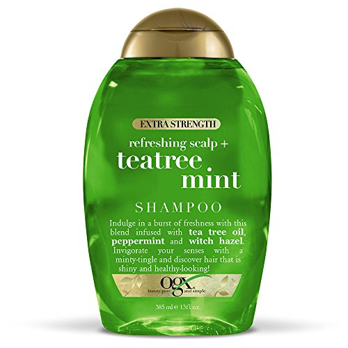 OGX - OGX Extra Strength Tea Tree Mint Shampoo, 13 Ounce Bottle