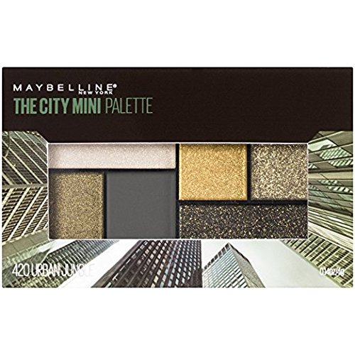 Maybelline New York - Maybelline The City Mini Palette, 420 Urban Jungle (Pack of 2)