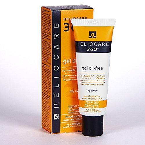 Heliocare - Heliocare 360° Gel Oil-free SPF 50 UVA, UVB Sunscreen 50ml