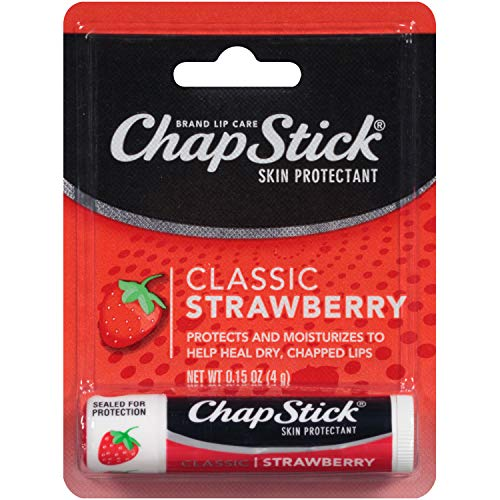 Chapstick -     ChapStick Lip Balm Strawberry 0.15 oz
