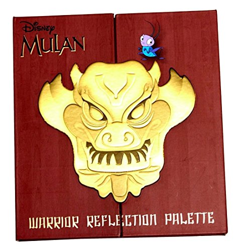 Cool Hot Fashions - Her Universe DISNEY MULAN WARRIOR REFLECTION 12 EYE SHADOW PALETTE