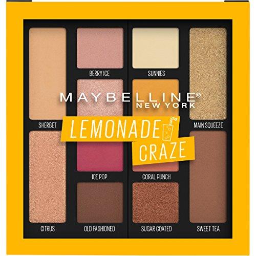 Maybelline Lemonade Craze,  Eyeshadow Palette Makeup
