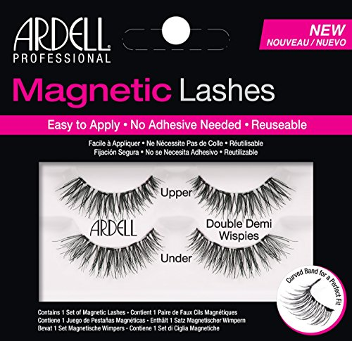 Ardell - Professional Magnetic Double Strip Lashes, Demi Wispies