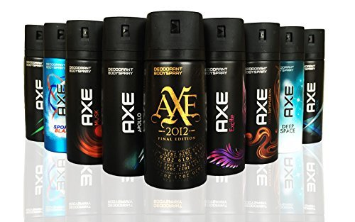 AXE AXE Body Spray MIX within available kind ( Pack of 6)(6X 150 ml/5.07 oz )