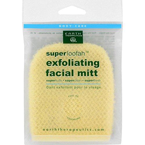 Earth Therapeutics - Exfoliating Facial Mitt