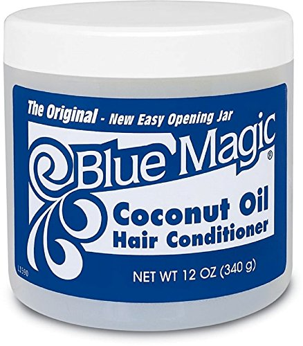 null - Blue Magic Coconut Oil Hair Conditioner 12 oz (Pack of 11)