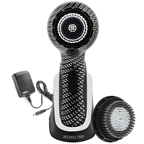 Soniclear by Michael Todd  Elite Antimicrobial Facial Cleansing Brush System