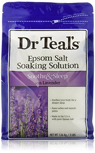 Advanced - Advanced Dr. Teals Lavendar Scented Epsom Salt, 48 oz