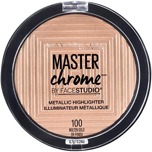 Maybelline - Master Chrome Metallic Highlighter, Molten Gold