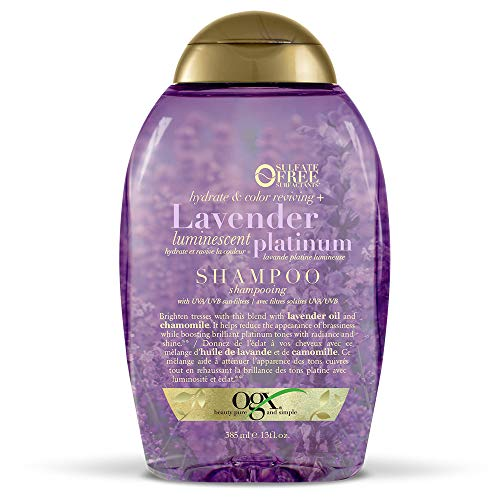 OGX - OGX Hydrate & Color Reviving + Lavender Luminescent Platinum Shampoo
