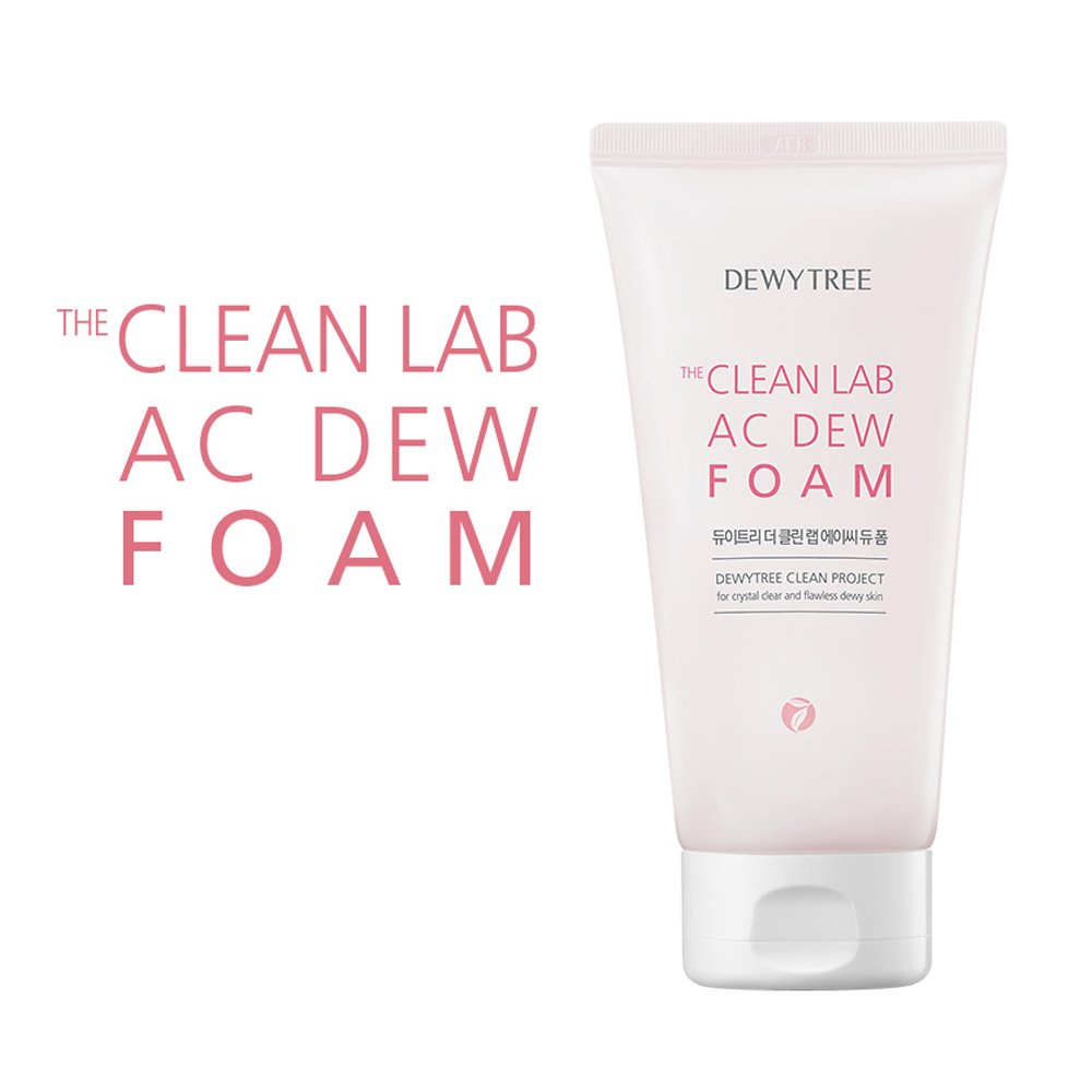 Dewytree Dewytree The Clean Lab AC DEW FOAM Cleanser 140ml (Upgrade version of the 7cut healthy foam)