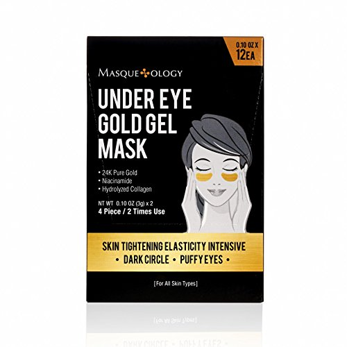 Masqueology Under Eye Gold Gel Mask