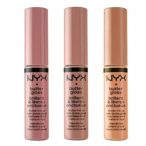 NYX - NYX Cosmetics Butter Lip Gloss, Creme Brulee, Tiramisu & Fortune Cookie - Nude Collection 1