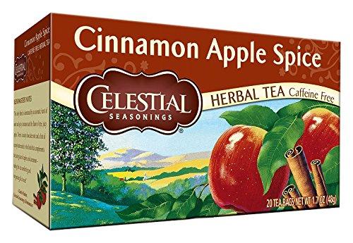 Celestial Seasonings - Celestial Seasonings Cinnamon Apple Spice Herbal Tea, 20 bags