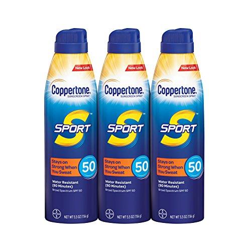 Coppertone - Sport Continuous Sunscreen Spray Broad Spectrum SPF 50