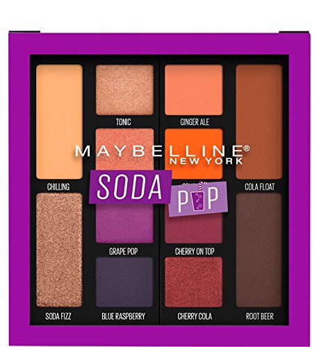 Maybelline New York - Eyeshadow Palette Makeup, Soda Pop