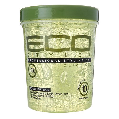 ECOCO - ECOCO Eco Style Gel, Olive 32 oz (Pack of 6)