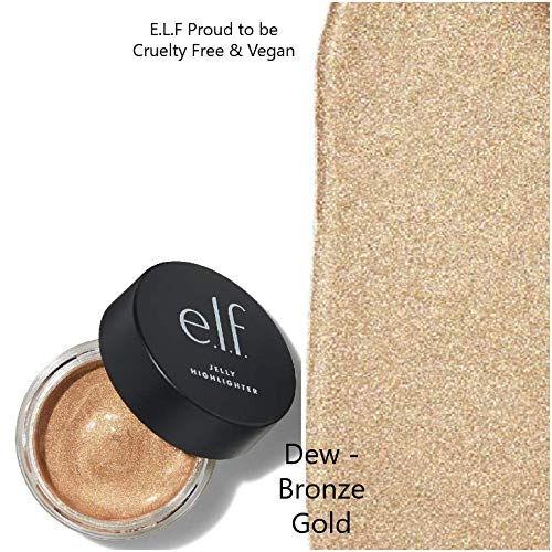 E.L.F - Elf, E.L.F Jelly Highlighter (DEW- Bronze Gold)