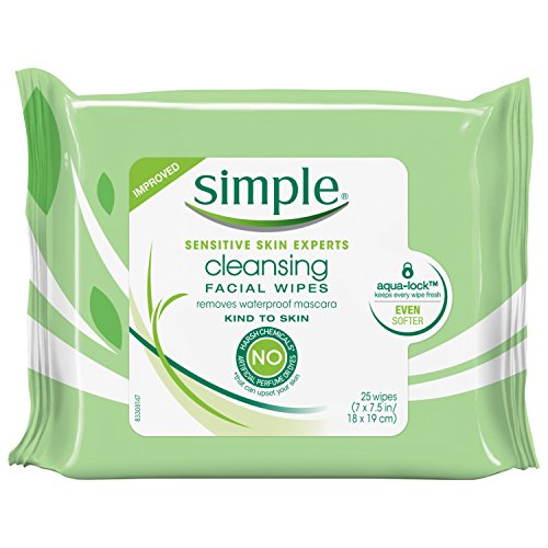 Simple - Kind to Skin Facial Wipes, Cleansing