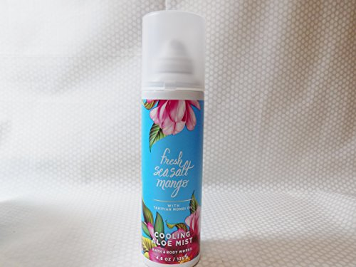 Bath & Body Works - Bath and Body Works Fresh Sea Salt Mango w Tahitian Monoi Oil Cooling Aloe Mist 4.8 oz