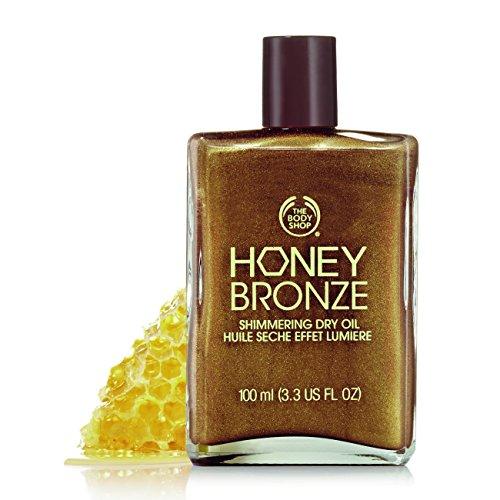 The Body Shop - The Body Shop Honey Bronze Shimmering Dry Oil, 3.3 Fl Oz - Honey Kiss 01