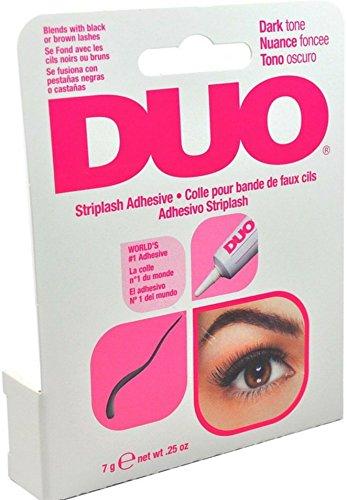 DUO - Duo Water Proof Eyelash Adhesive, Dark Tone 1/4 oz (Pack of 7)
