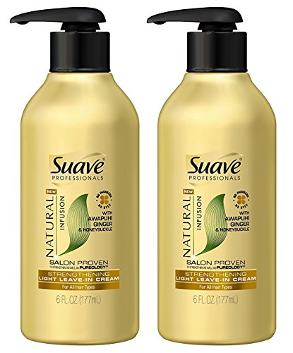 Suave - Natural Infusion Strengthening Light Leave-In Cream