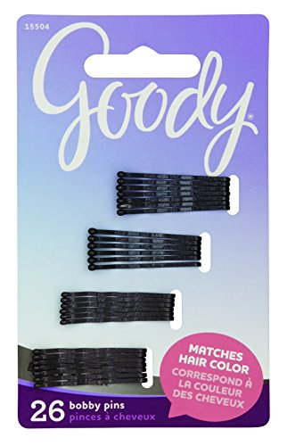Goody - Goody Women's Colour Collection Small Metallic Bobby Slide Black, 26 Count